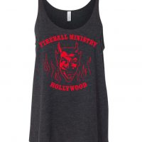 Fireball Ministry Tank - SMALL Charcoal
