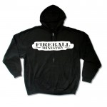 Fireball Ministry Zip-Front Hoodie