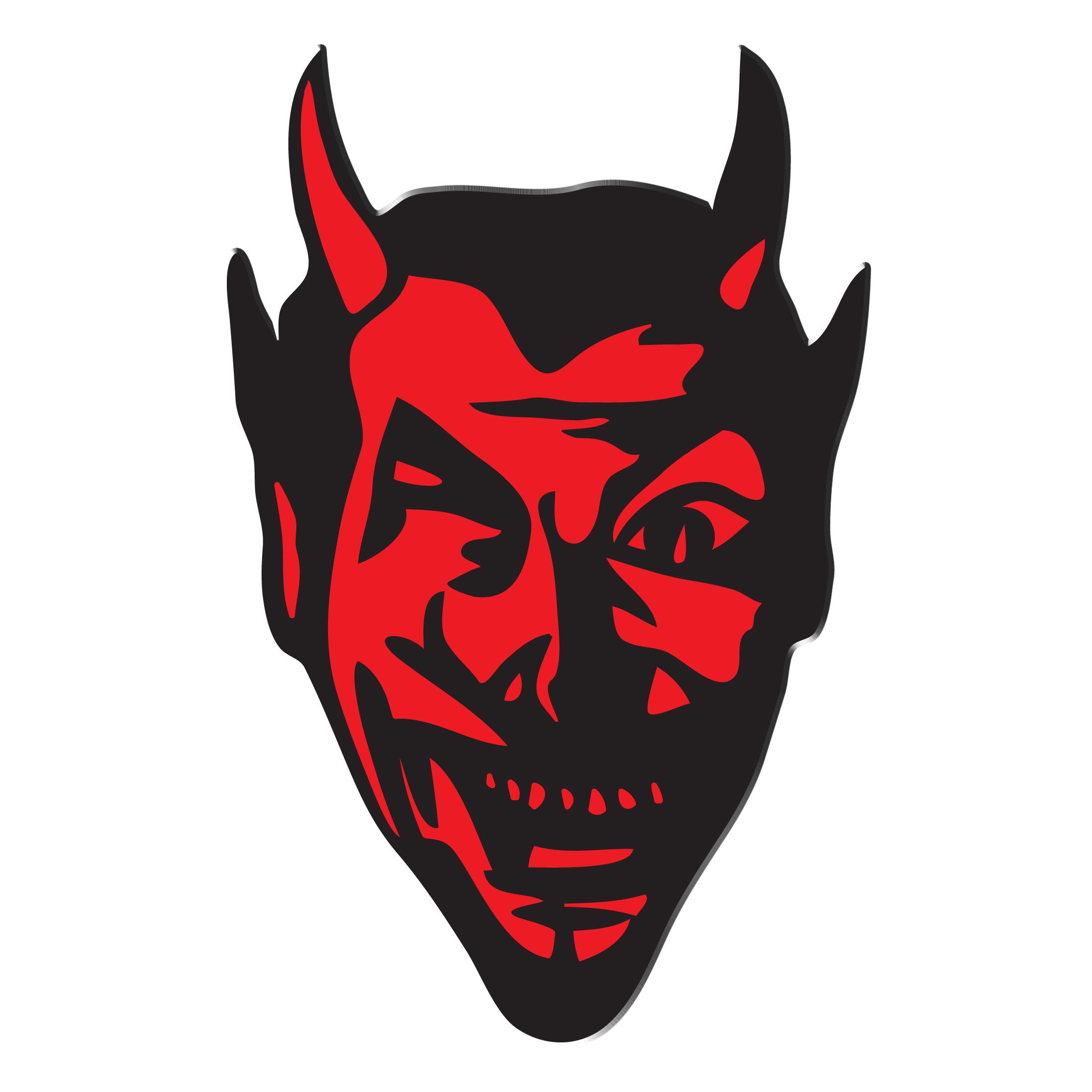Fireball Ministry Devilhead Enamel Pin