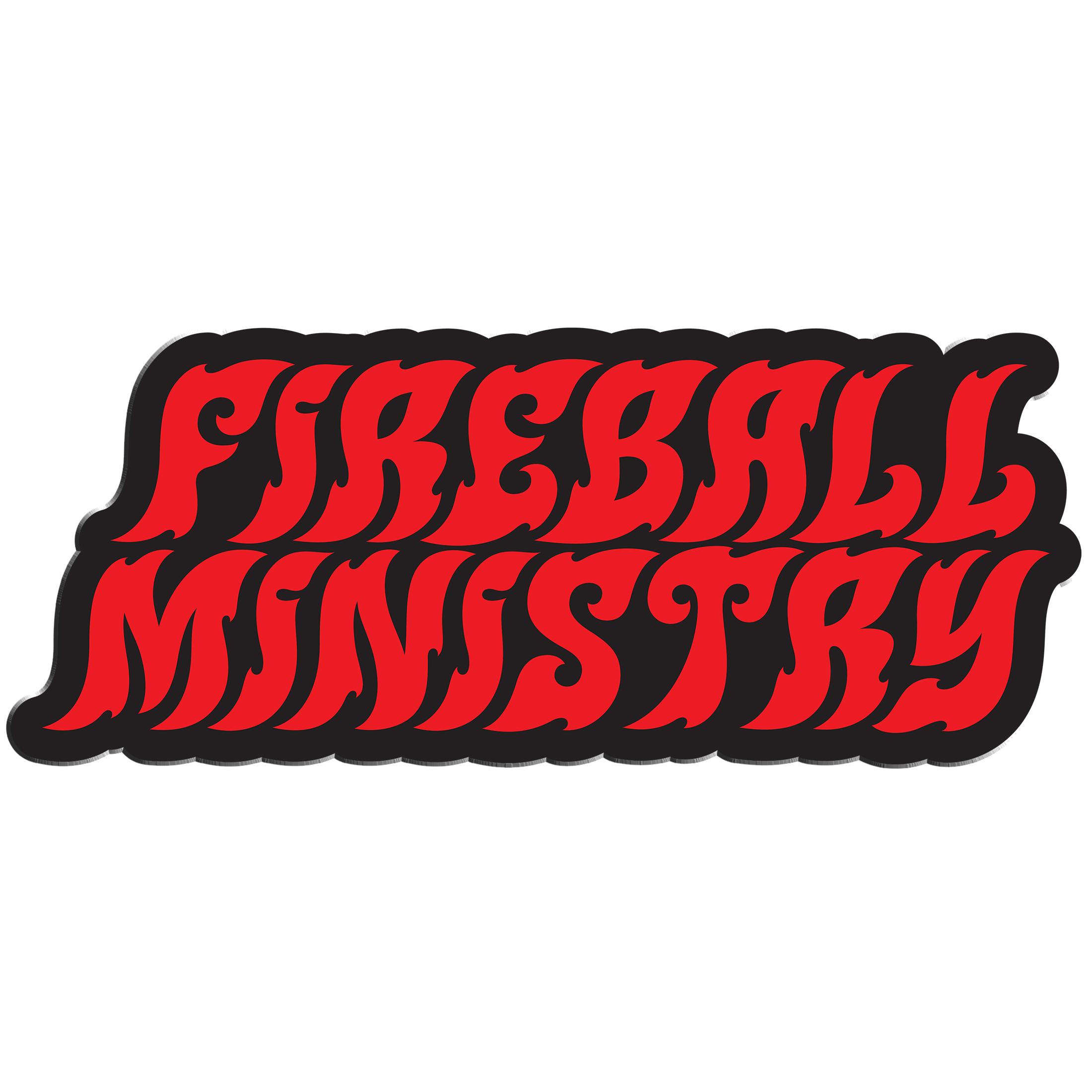Fireball Ministry Logo enamel pin