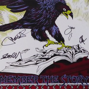 Remember the Story Screenprint Poster
