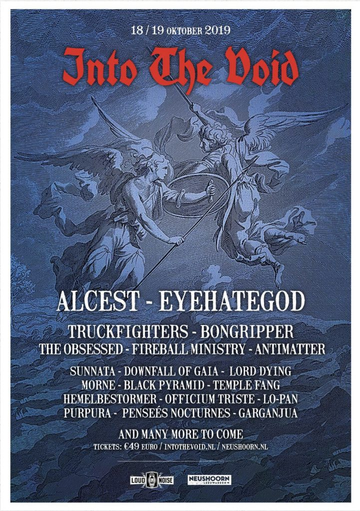 Fireball Ministry at Into the Void with Alcest, Eyehategod, Truckfighters, Bongripper